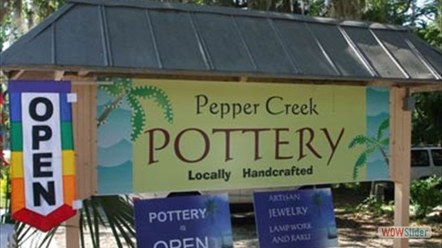Pepper Creek Pottery-River Safaris