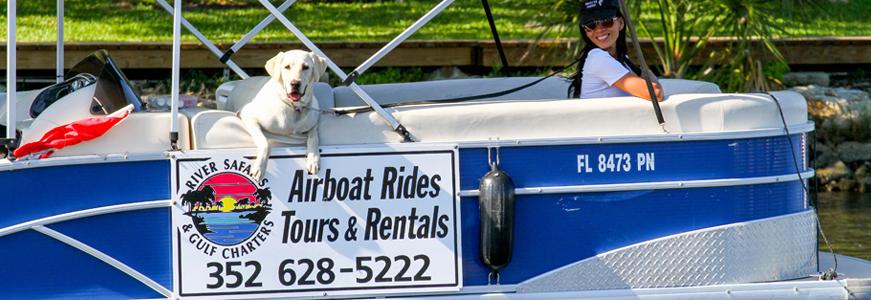 Homosassa Pontoon Boat Rentals, Jon Boat Rentals in Homosassa, Canoe ...