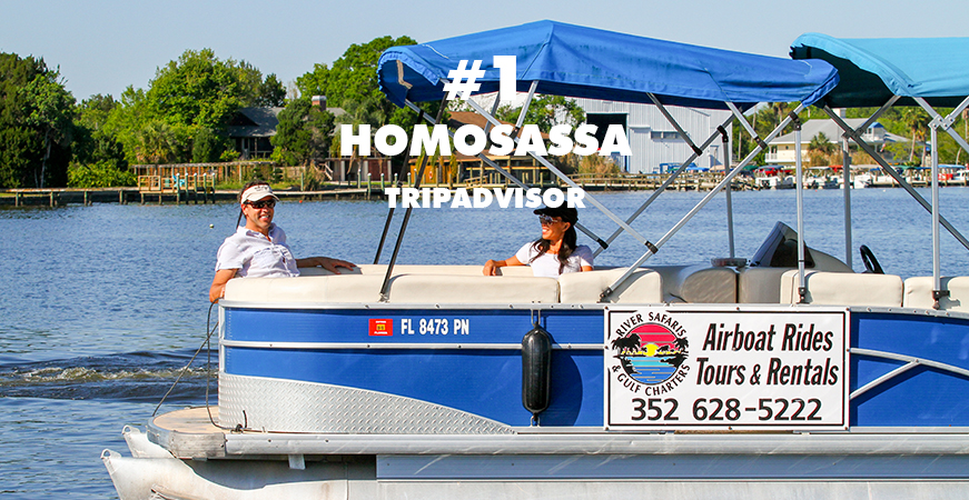 Homosassa River Airboat Tours Manatee Tours Homosassa Florida Boat ...