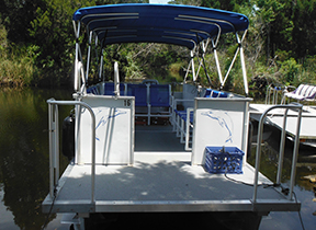 Rental Pontoon Boats 25 foot - River Safaris
